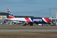N36NE @ KPVD - Boeing 767-300ER - by Mark Pasqualino