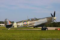 N64SQ @ KOSH - Supermarine Spitfire Mk.F IX  C/N 6S-160931 , NX64SQ