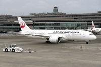 JA845J @ RJAA - All set for departure from Narita Terminal 2.