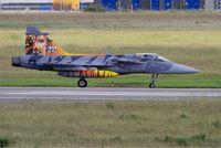 9241 @ LFRJ - Saab JAS-39C Gripen, Taxiing to flight line, Landivisiau Naval Air Base (LFRJ) Tiger Meet 2017 - by Yves-Q