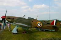 N2549 - Hawker Hurricane Mk.XIIB Churchill's Chicks, N2549