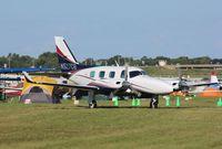 N527CB @ KOSH - Piper PA-31P