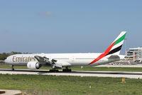 A6-EPB @ LMML - B777 A6-EPB Emirates Airlines - by Raymond Zammit