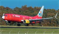 D-AHFZ @ EDDR - Boeing 737-8K5 - by Jerzy Maciaszek