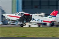 D-EFXC @ EDDR - Piper PA-28-161 Cadet - by Jerzy Maciaszek