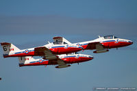 114058 @ KNTU - CAF CT-114 Tutor 114058 C/N 1058 from Snowbirds Demo Team 15 Wing CFB Moose Jaw, SK - by Dariusz Jezewski www.FotoDj.com