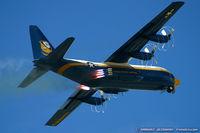151891 @ KNTU - TC-130G Hercules 151891 Fat Albert from Blue Angels Demo Team  NAS Pensacola, FL - by Dariusz Jezewski www.FotoDj.com