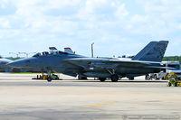 161297 @ KNTU - F-14A Tomcat 161297 NG-115 from VF-211 'Checkmates' NAS Oceana, VA - by Dariusz Jezewski www.FotoDj.com