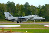 161434 @ KNTU - F-14B Tomcat 161434 AG-106 from VF-143 'Pukin Dogs' NAS Oceana, VA - by Dariusz Jezewski www.FotoDj.com