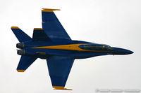 161956 @ KNTU - F/A-18A Hornet 161956 C/N 0167 from Blue Angels Demo Team  NAS Pensacola, FL - by Dariusz Jezewski www.FotoDj.com