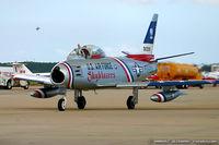 N86FS @ KNTU - Canadair F-86 Sabre Mk.5 C/N 1157 - Dale Snort Snodgrass, N86FS - by Dariusz Jezewski www.FotoDj.com