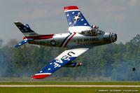 N86FS @ KNTU - Canadair F-86 Sabre Mk.5 C/N 1157 - Dale Snort Snodgrass, N86FS