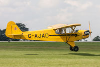 G-AJAD @ EGBK - Piper J-3C-65 G-AJAD Light Aircraft Association Rally 2017 - by Grahame Wills