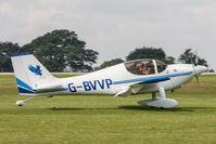 G-BVVP @ EGBK - Shaw Europa G-BVVP Bluebird Flying Group Light Aircraft Association Rally 2017 - by Grahame Wills