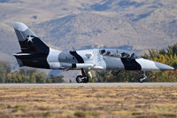 N136EM @ KBOI - Starting take off roll on RWY 10R.  Black Diamond Jet Team.
