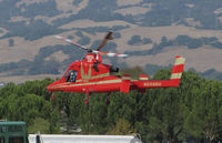 N699RH @ O69 - Rainier Heli-Lift (Kirkland, WA) 1994 Kaman K-1200 K-MAX returning to Petaluma Municipal Airport, CA temporary home base from making water drops on the devastating October 2017 Northern California wildfires - by Steve Nation