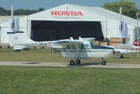 N86121 @ KOSH - Cessna T337D