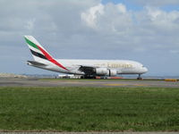 A6-EDZ @ NZAA - just touched down at AKL - by magnaman