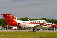 161505 @ KMIV - UC-12B Huron 161505 G-312 from NAS Corpus Christi, TX - by Dariusz Jezewski www.FotoDj.com