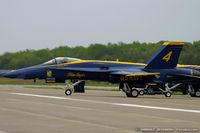 161942 @ KMIV - F/A-18A Hornet 161942 C/N 0149 from Blue Angels Demo Team  NAS Pensacola, FL - by Dariusz Jezewski www.FotoDj.com