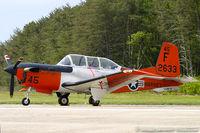 162633 @ KMIV - T-34C Turbo Mentor 162633 F-45 from VT-4 'Warbuck' NAS Pensacola, FL