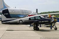 N79MU @ KMIV - Cessna 310A (U-3A Blue Canoe) C/N 38146, N79MU