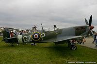 N730MJ @ KMIV - Supermarine Spitfire Mk IX C/N CBAF 7243, N730MJ