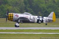 N1345B @ KMIV - Republic P-47D Thunderbolt Jacky's Revenge C/N 44-90447, NX1345B - by Dariusz Jezewski www.FotoDj.com