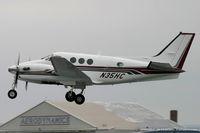 N35HC @ KMIV - Beech C90A King Air  C/N LJ1375, N35HC