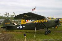 N9666N @ KMIV - Taylorcraft DC-65  C/N L-5041, N9666N