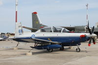 042 @ LMML - Raytheon T-6A TexanII 042 Hellenic Air Force - by Raymond Zammit