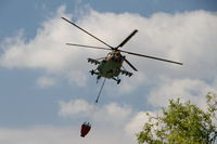 705 - Purchase of fire water with Bambi-bucket. In the Öskü airspace, Hungary - by Attila Groszvald-Groszi