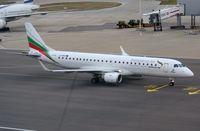 LZ-BUR @ EGLL - ABG ERJ190 taxying to its gate. - by FerryPNL