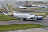 A9C-KA @ EGLL - Gulf Air A332 - by FerryPNL