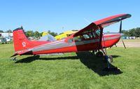 N185DR @ OSH - Cessna 185