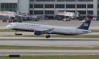 N187US @ MIA - US Airways