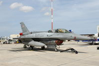 4081 @ LMML - Lockheed Martin F-16D Fighting Falcon 4081 Polish Air Force - by Raymond Zammit