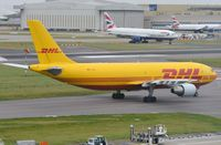 D-AEAL @ EGLL - DHL A306F taxying for departure. - by FerryPNL