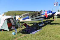 N195MK @ OSH - Cessna 195B
