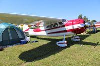 N195PD @ OSH - Cessna 195
