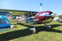 N195PK @ OSH - Cessna 195