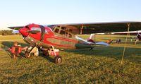 N195WS @ OSH - Cessna 195B