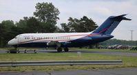 N196US @ YIP - USA Jet
