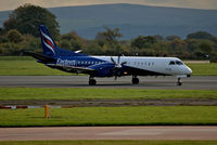 G-CDEA @ EGCC - just landed on runway [23R] - by andysantini