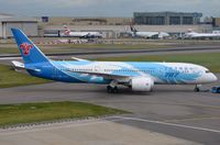 B-2736 @ EGLL - China Southern B788 under tow to T4. - by FerryPNL