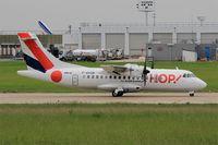 F-GVZB @ LFPO - ATR 42-500, take off run rwy 08, Paris-Orly airport (LFPO-ORY) - by Yves-Q