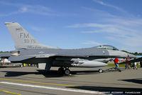 86-0323 @ KSCH - F-16C Fighting Falcon 86-0323 FM from 482nd FS Makos 93rd FW Homestead ARB, FL