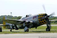 N1345B @ KSCH - Republic P-47D Thunderbolt Jacky's Revenge C/N 44-90447, NX1345B - by Dariusz Jezewski www.FotoDj.com