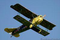 N1918P @ KDAY - Fokker D-VII replica  C/N 6880, NX1918P