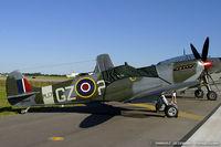N730M @ KDAY - Supermarine Spitfire Mk IX C/N CBAF 7243, N730M